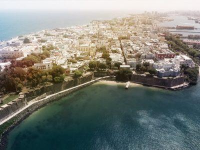 San Juan by Drone