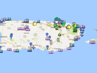puerto rico interactive map
