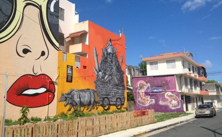 beautiful buildings in San Juan
