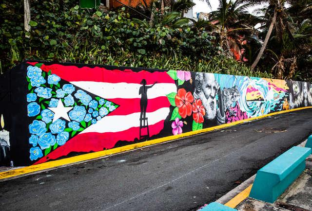 Street art San Juan